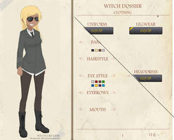 STRIKE WITCH CHARACTER GENERATOR