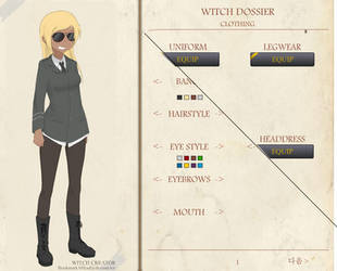 STRIKE WITCH CHARACTER GENERATOR by BookmarkAHead