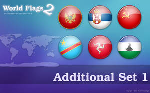 World Flags 2 Additional Set 1 by javierocasio