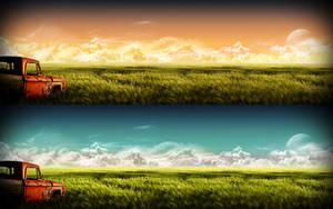 It Was a Beautiful Day - Dual by javierocasio