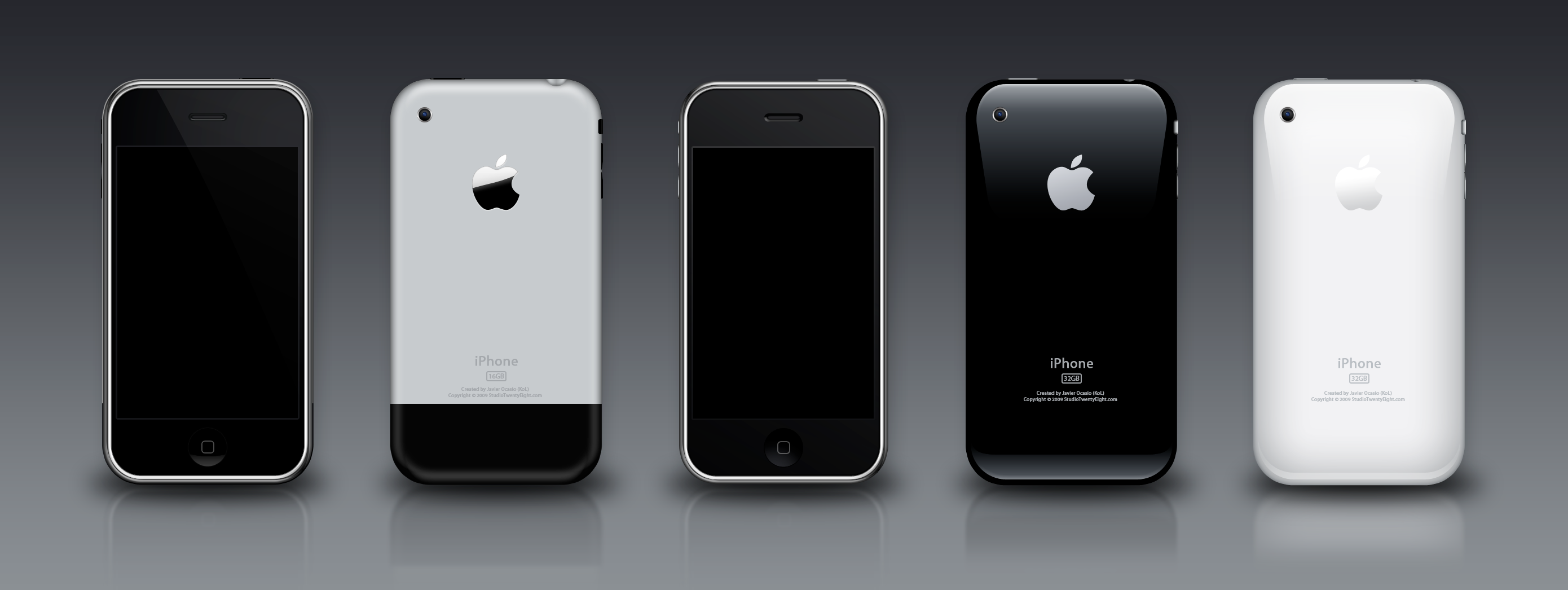 iPhone 3G-3GS PSD by javierocasio