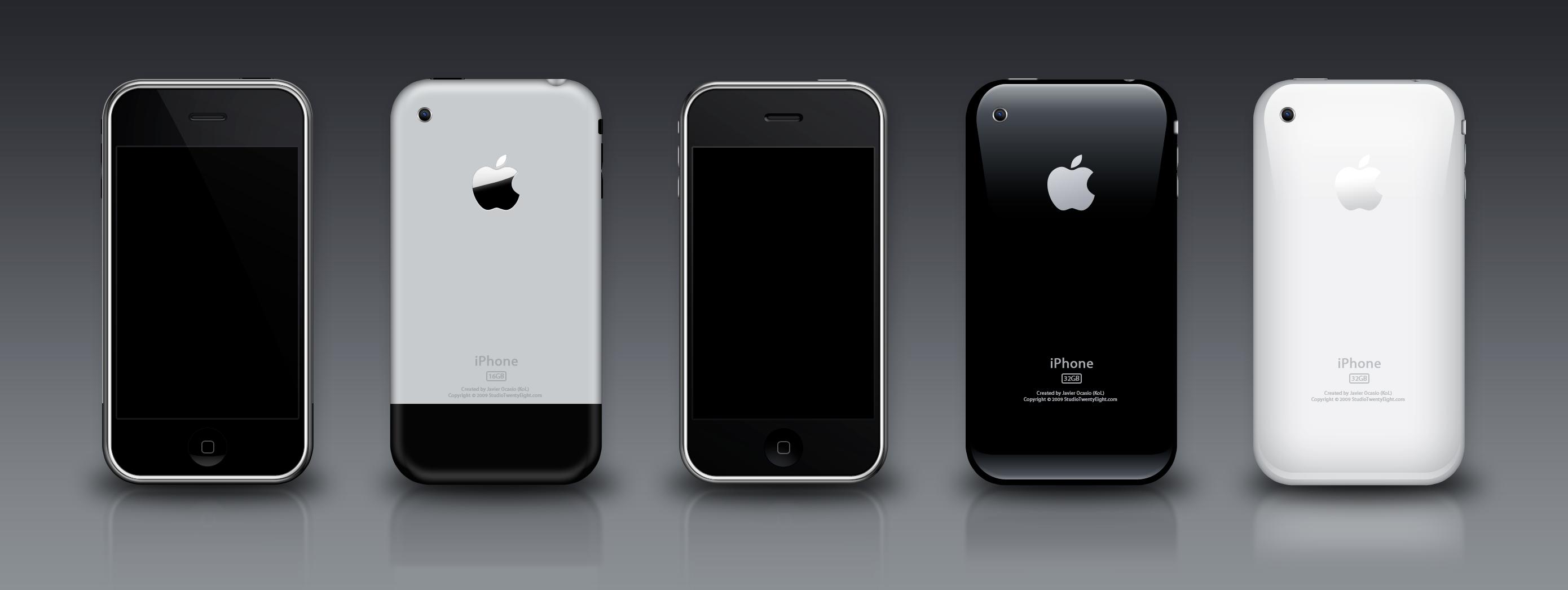 iPhone 3G 3GS PSD by  kol - İphone ile blog yazmak.