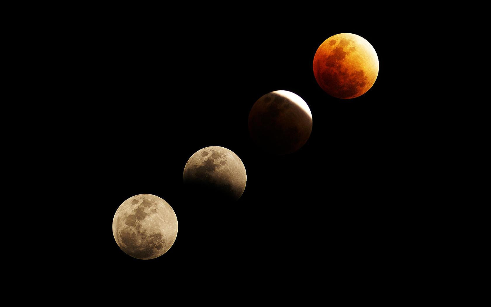 Lunar Eclipse Wallpaper by javierocasio