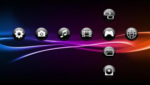 Sfere Black 3 - PSP Theme by javierocasio