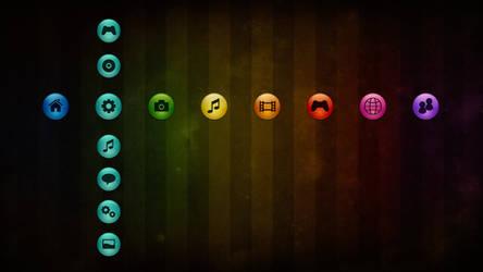 Sfere Colors 3 - PS3 Theme
