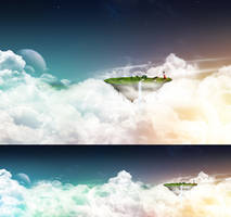 Floating Island by javierocasio