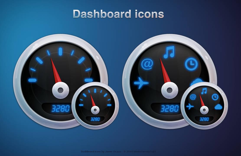 Dashboard Icons by javierocasio