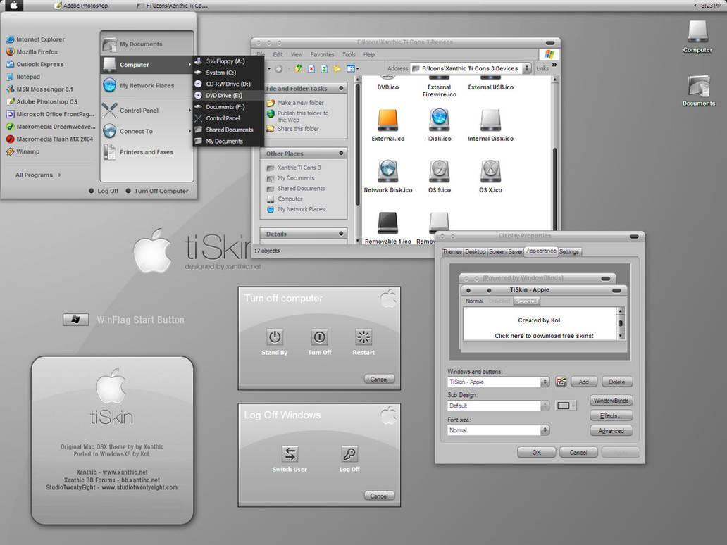 TiSkin - WindowBlinds by javierocasio