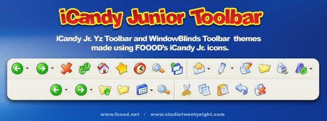 iCandy Jr. Yz and WB Toolbar by javierocasio