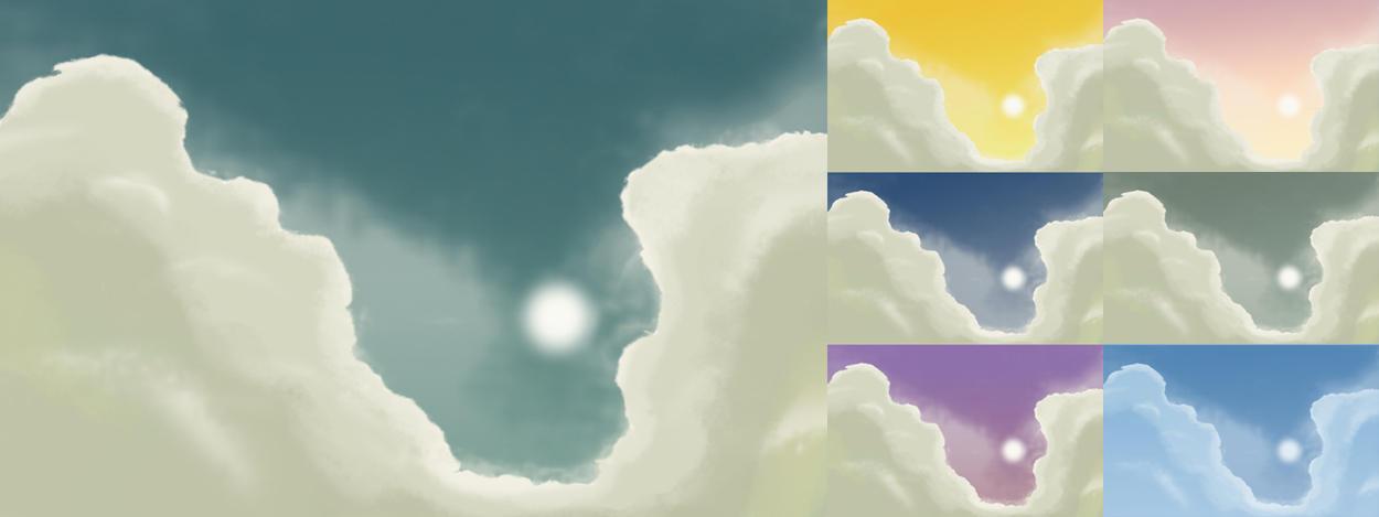 Digital Sky by javierocasio