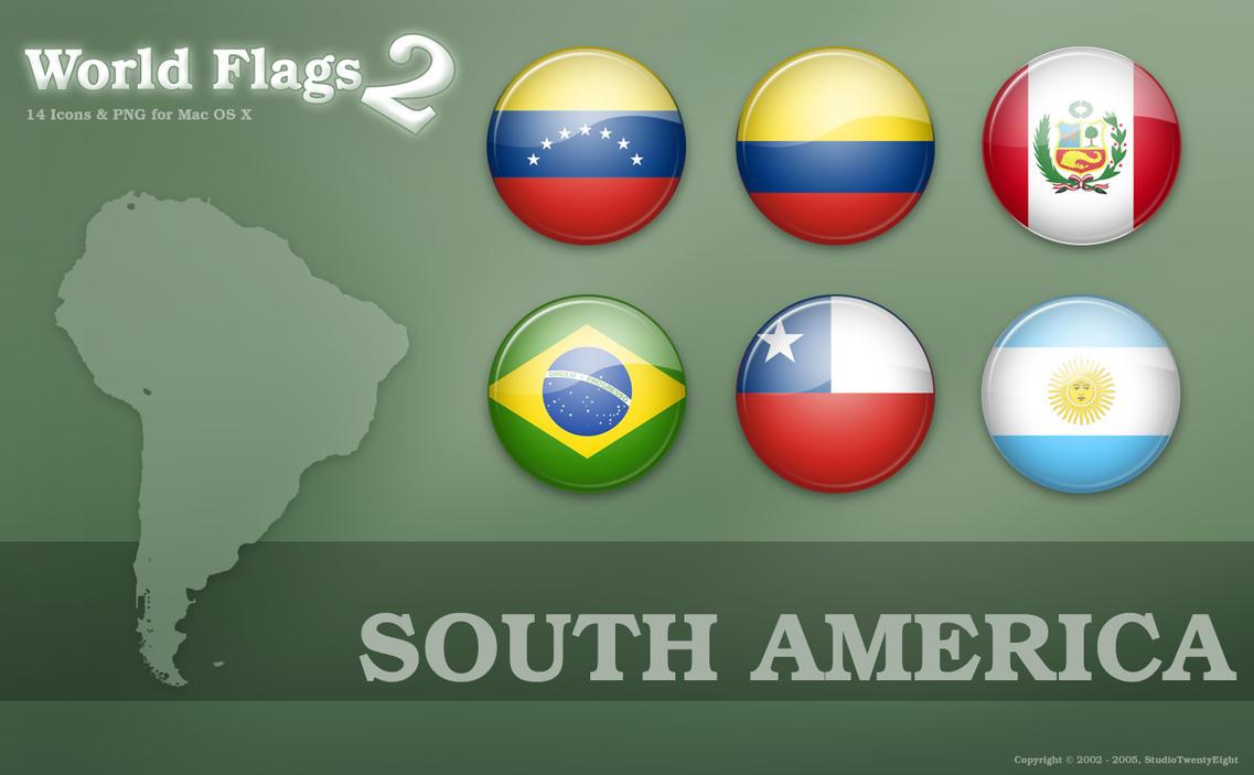 South America - Mac by javierocasio