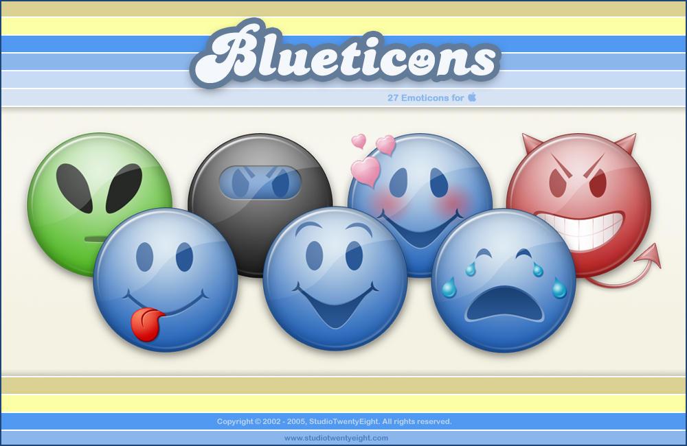 Blueticons - Mac by javierocasio