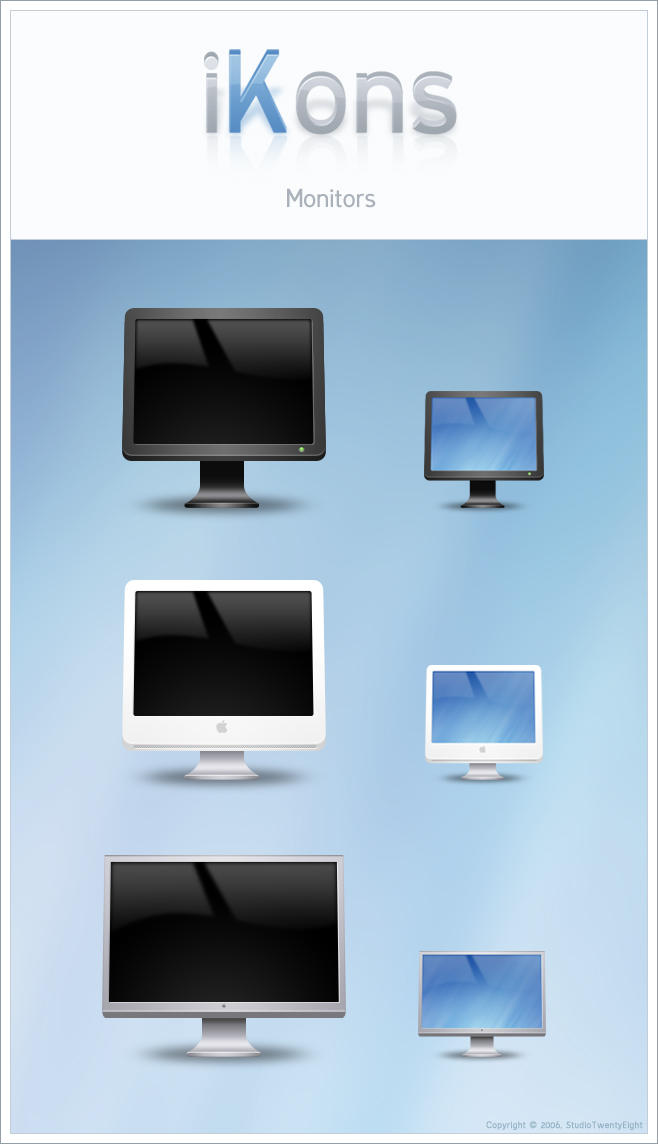 iKons Monitors by javierocasio