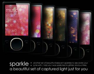 Zune Backgrounds: Sparkles