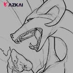 [YCH] Premade - Angry Dragon by AzKai