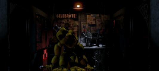 Hallucinations - Golden Freddy x Reader (FNAF) by