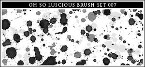 007 watercolor paint splatters