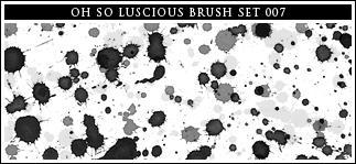 007 watercolor paint splatters by daliaxxosll
