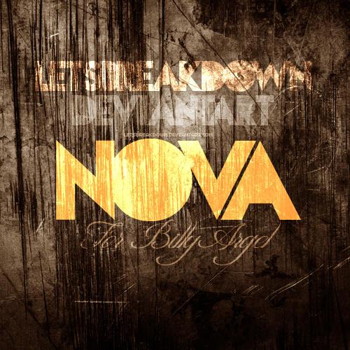 font nova by LetsBreakDown
