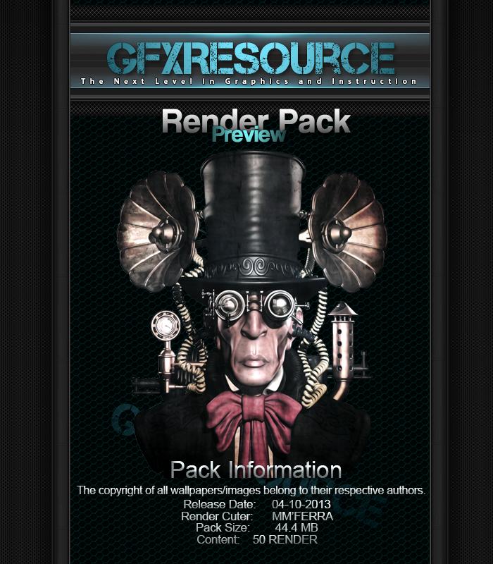 Ferra's Render Pack12 by MMFERRA