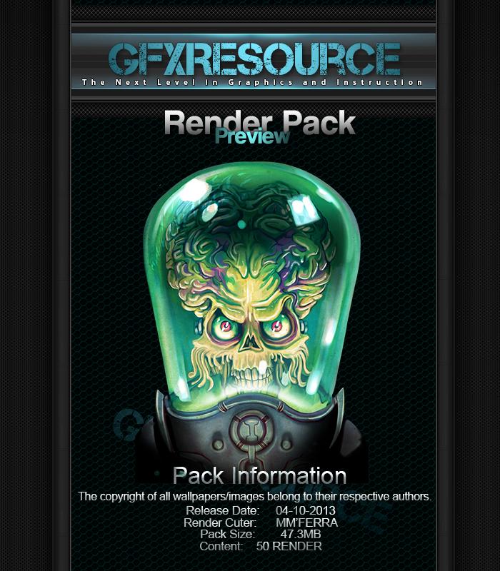 Ferra's Render Pack13 by MMFERRA