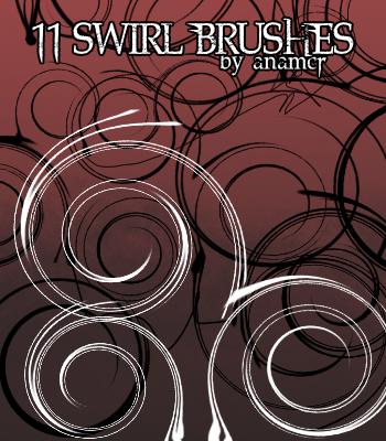 Swirl Brushes by anamcr