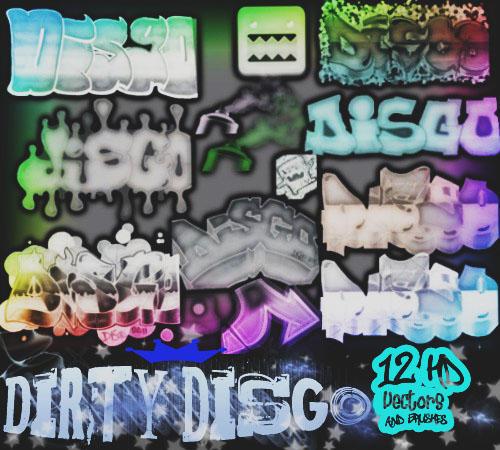 Graffiti Brush Pack by disgo04
