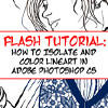 Isolate and Color Your Lineart