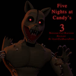 FNAC 3: Monster Cat Unnecessary Blender Release! by AndyPurro