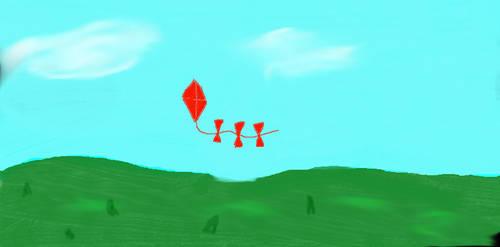 A lost kite