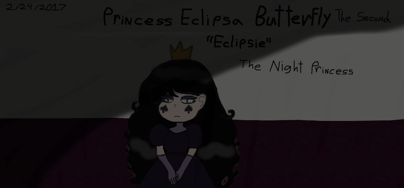 Eclipsa Butterfly The Second, The Night Princess by Elzathehedgehog