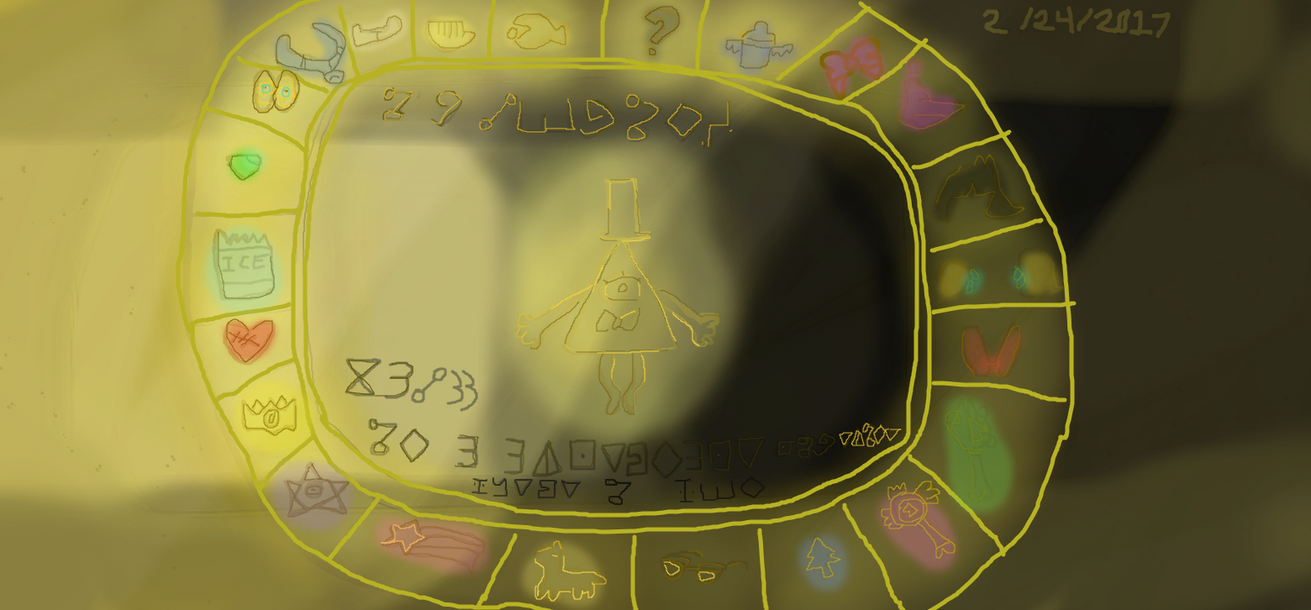 Bill Cipher And The Toon Multiverse Zodiac by Elzathehedgehog
