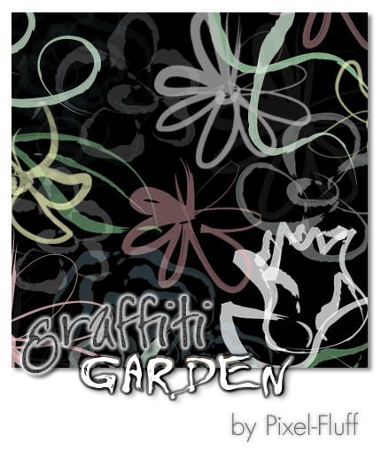 Graffiti Garden - PS Brush Set by pixel-fluff