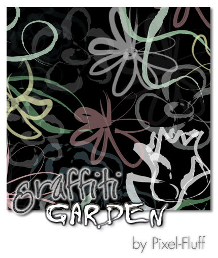 Graffiti Garden - PS Brush Set