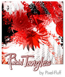 Radial Tangles - PS Brush Set