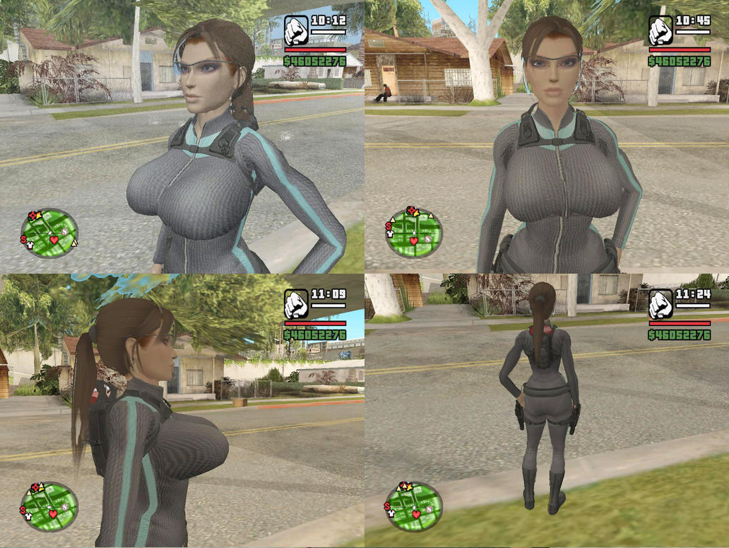 Gta sa big boobs sex photos nackt scene