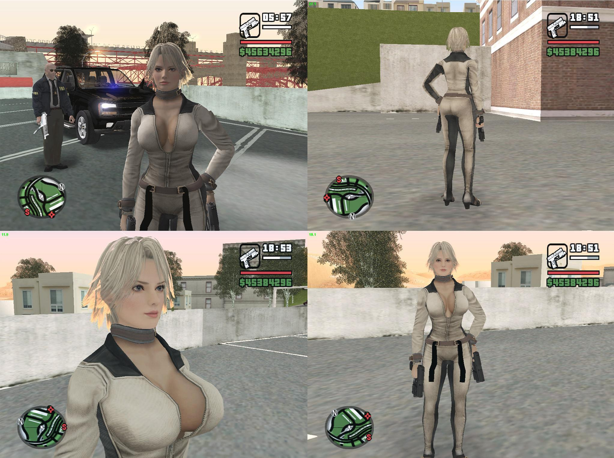 Doa Christie for gta sa by michaelvr4