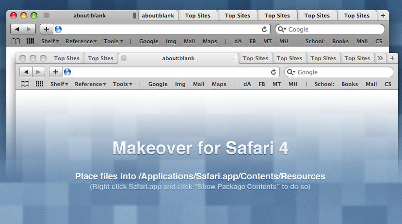 Safari 4 Makeover by Kar-ma