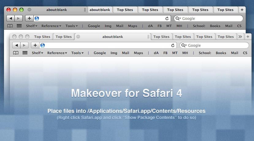 Safari 4 Makeover by Kar-ma