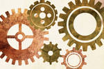 gears vector stock