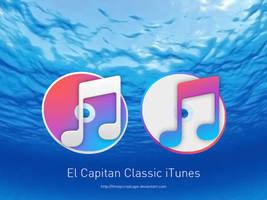 El Capitan Classic iTunes Icons