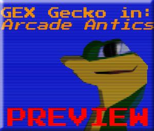Gex The Gecko In... Arcade Antics