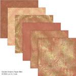 Golden Dreams Scrapbook Paper