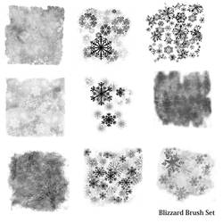 LCO BrushSet Blizzard PNG by Crueltyfre