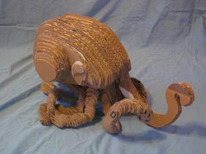 Cardboard Octopus