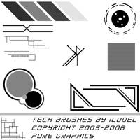 Tech Addon Brushes 2 by iludel