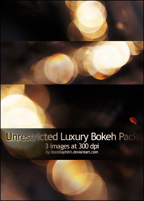 Luxury Bokeh Texture Pack by StockSaphitri