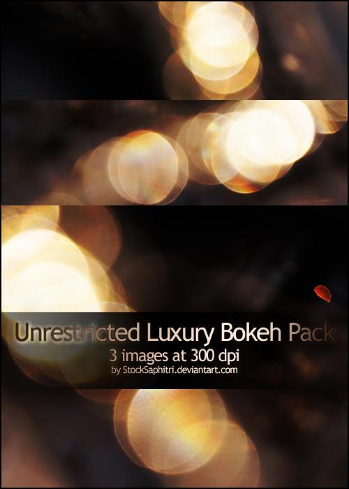 Luxury Bokeh Texture Pack by StockSaphitri