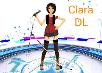 MMD Tda Clara model DOWNLOAD by ChenoaPintos