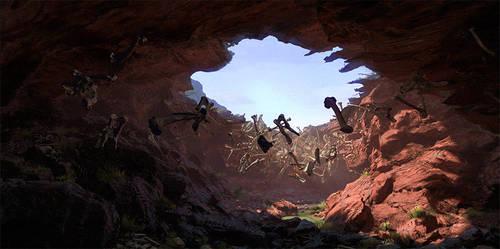 Dancing bones cave